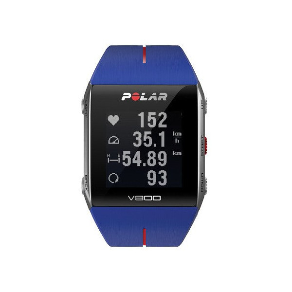 Polar V800 GPS Sport Watch with Heart Rate Monitor, Blue