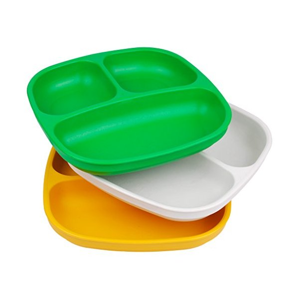 Re-Play 3pk Divided Plates (St. Patrick's Day)