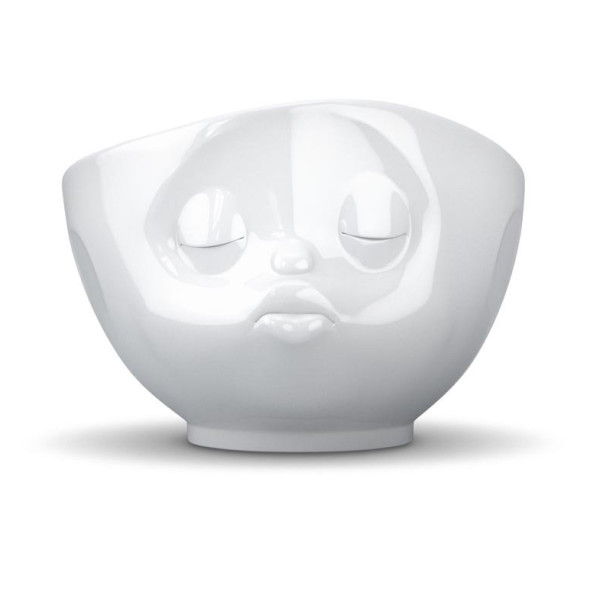 Tassen White Porcelain Face Bowls, Kissing