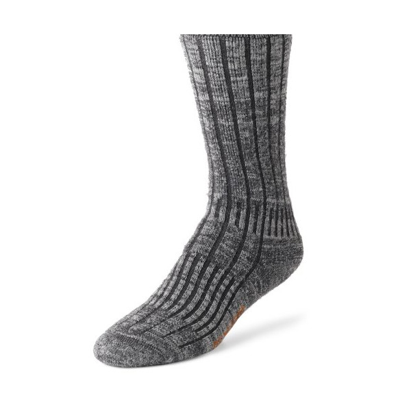 Wigwam Men's Merino/Silk Hiker Socks, Charcoal, Large