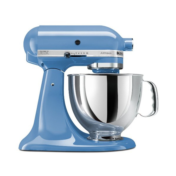 KitchenAid KSM150PSCO Artisan Series 5-Quart Stand Mixer, Cornflower Blue