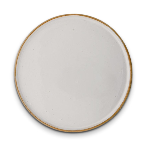 Bloomingville Ceramic Barbara Dinner Plate, White
