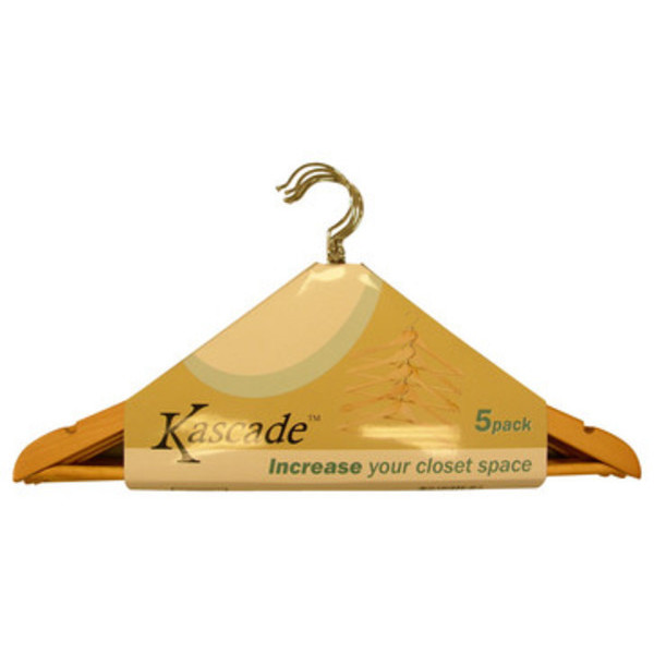 Proman Kascade Hanger with Notch On Shoulder - Natural