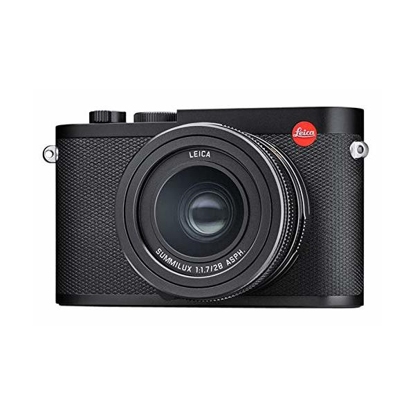 Leica Q2 Waterproof Dustproof High Speed Compact Black Anodized Digital Camera (19050)