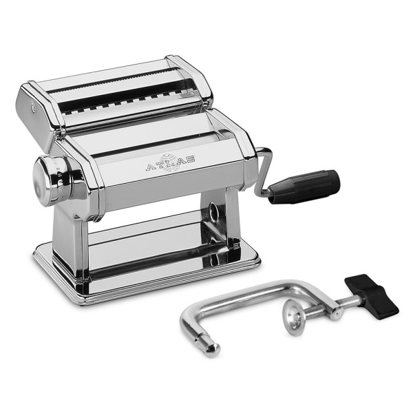 Marcato Atlas Light Alloy 150 Pasta Maker Machine, Silver