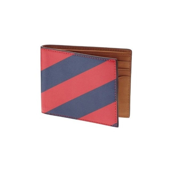 Jack Spade Repp Stripe Bill Holder