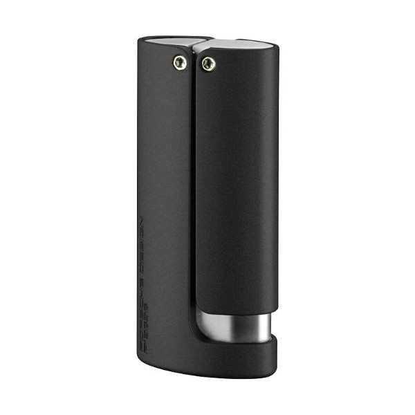 Porsche Pd6 Micro Torch Flame Lighter Black
