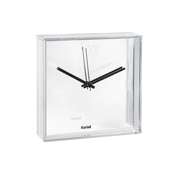 Kartell Tic&Tac Clock by Philippe Starck with Eugeni Quitllet, Matte White