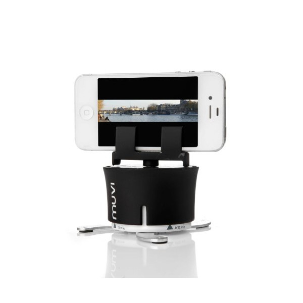 Veho VCC-100-XL MUVI X-Lapse 360-Degree Photography and Timelapse Accessory for iPhone/Action Cameras/Time Lapse Cameras (Black)