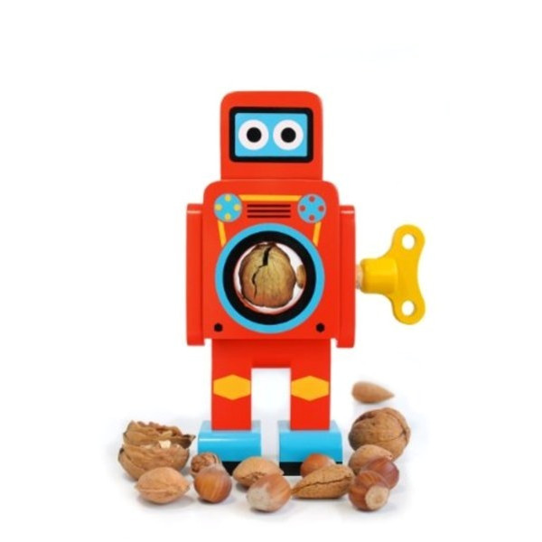 Suck UK Robot Nutcracker, Small