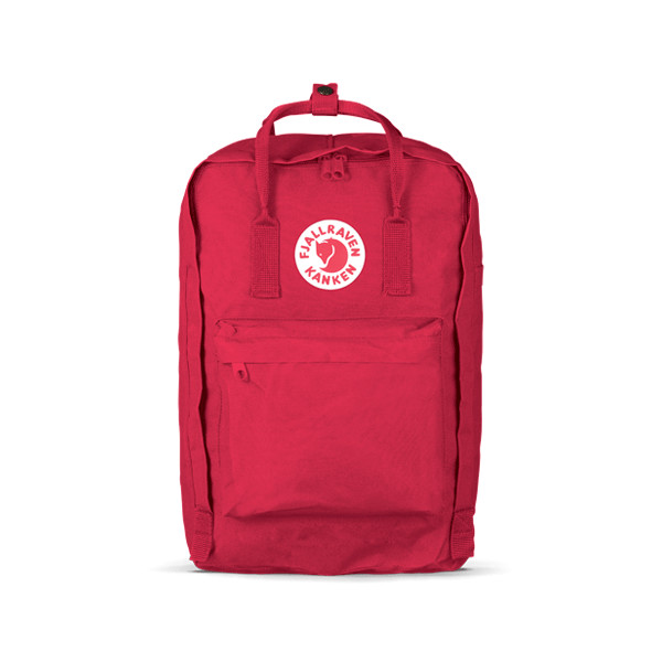 Fjallraven Kanken Laptop Backpack, Ox Red, 15-Inch