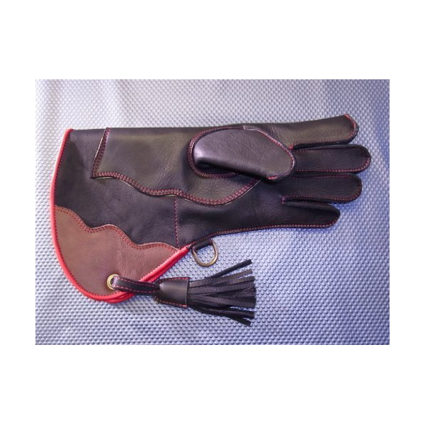 Ultimate Falconry Glove. Double Skinned plus KEVLAR Puncture resist. (MENS MEDIUM)
