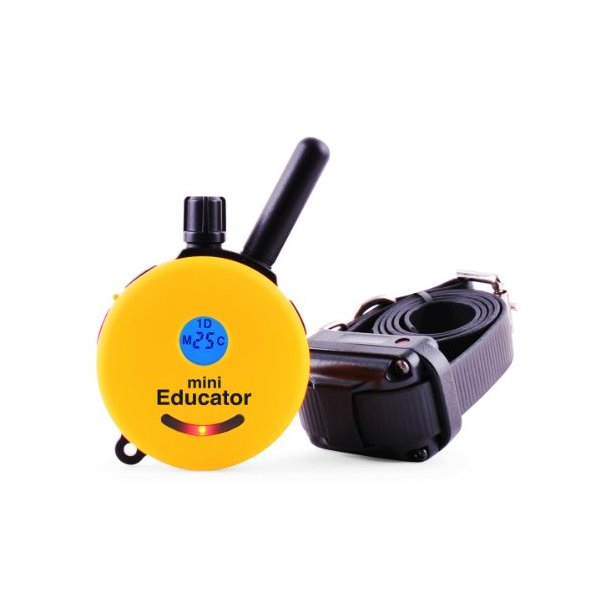 Educator ET-300 Mini 1/2 Mile E-Collar Remote Dog Training Collar With Vibration, Tapping Sensation and Pavlovian Stimulation