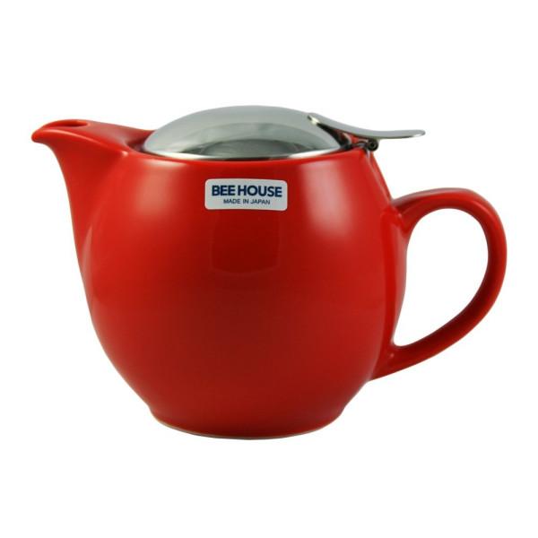 Round White Teapot 15 Ounces