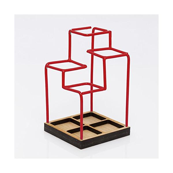 Block Sketch Desk Tidy, Red