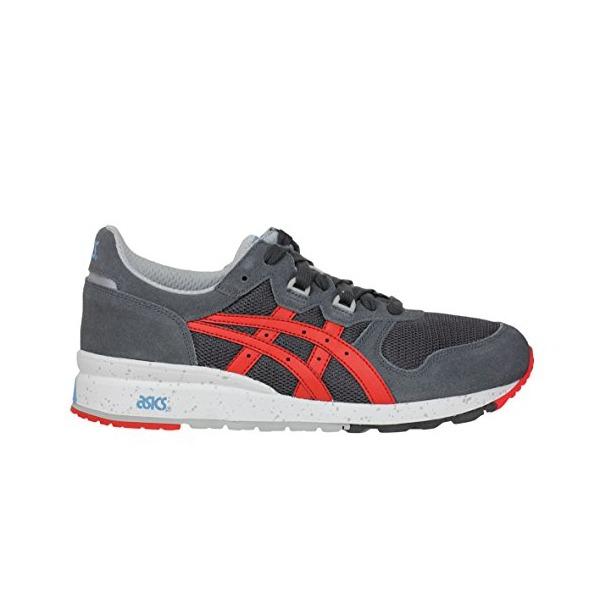 ASICS Men's Gel Epirus Fashion Sneaker,Dark Grey/Fiery Red,8.5 M US