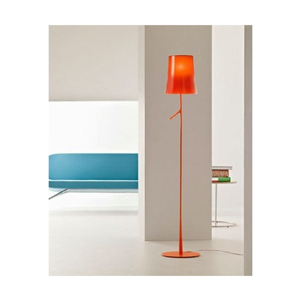 Birdie Floor Lamp - 220 - 240V (for use in Australia, Europe, Hong Kong etc.), amaranto