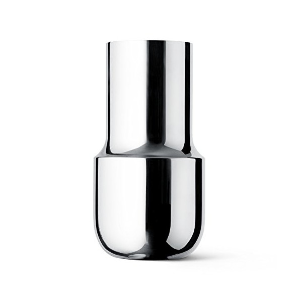 MENU Tactile Tall Vase, Stainless Steel