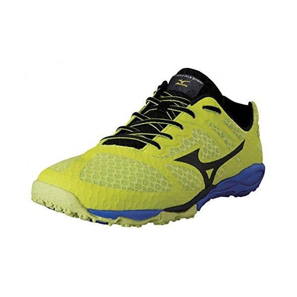 Mizuno Men's Wave Evo Ferus Running Shoe,Lime,10 D US