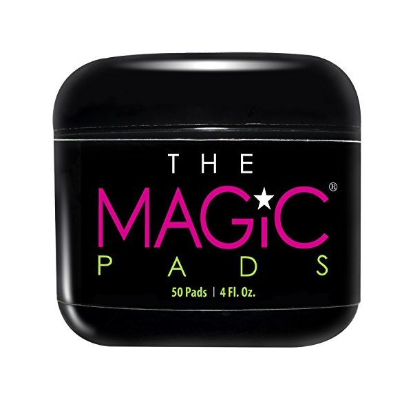 The Magic Pads - Glycolic Acid Pads with USDA Certified Organic Extracts, 50 Count