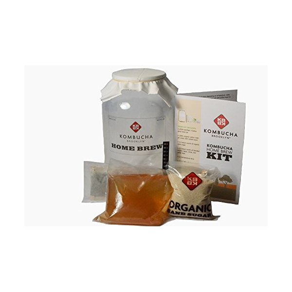 Kombucha Home Brew Kit - simple and easy to use!