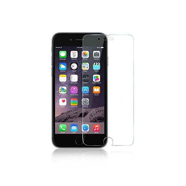 iPhone 6 Screen Protector, Anker Premium Tempered Glass Screen Protector for Apple iPhone 6 (4.7 inch) 9H Hardness and Easy Bubble-Free Installation (Not compatible with iPhone 6s)