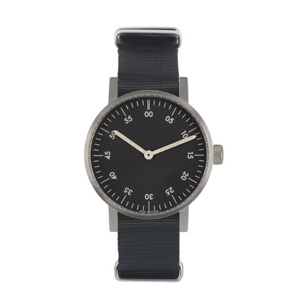 VOID V03B Watch, Brushed/Black