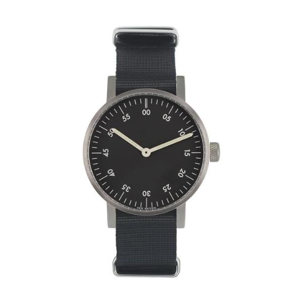 VOID V03B Watch, Brushed/Black