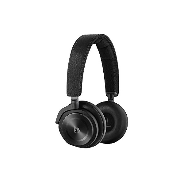 B&O PLAY by Bang & Olufsen Beoplay H8 Wireless On-Ear Headphone with Active Noise Cancelling, Bluetooth 4.2 (Black)