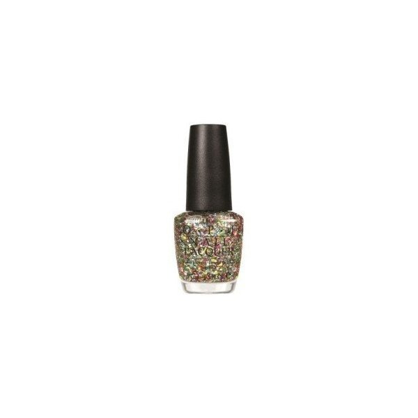 OPI Nail Lacquer, Spotlight On Glitter Chasing Rainbows, 0.5 Ounce