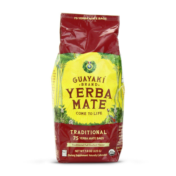 Guayaki Traditional Mate Tea, 75 Bags