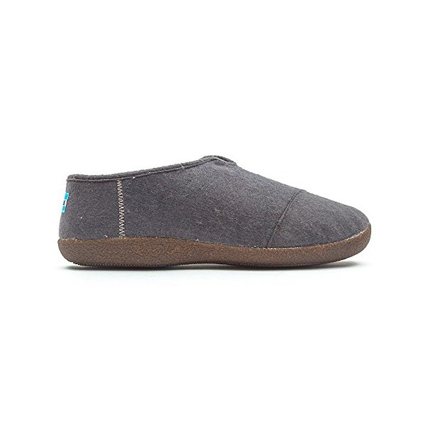 Toms Slippers, Charcoal Wool