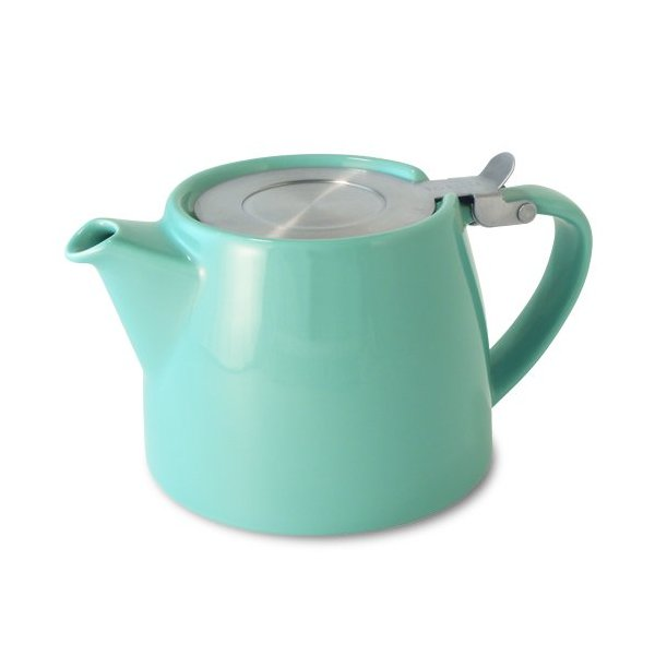For Life Stump teapot turquoise 18oz
