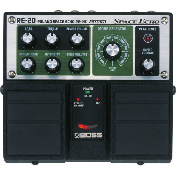 BOSS RE-20 Roland Space Echo Twin Pedal