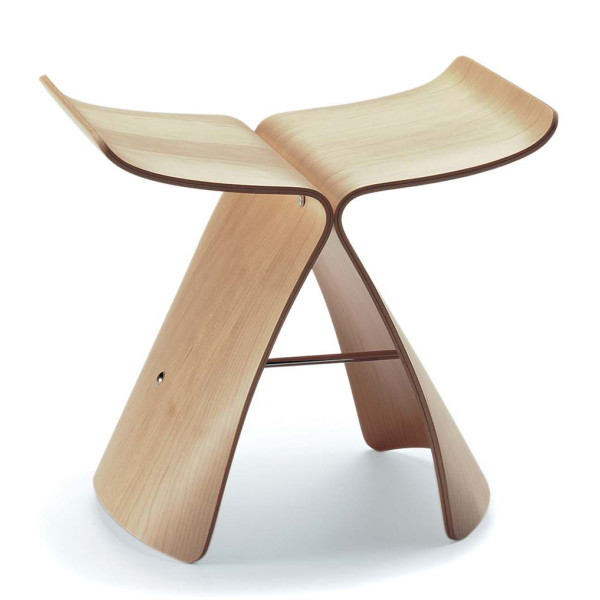 Vitra Butterfly Stool - Maple Plywood