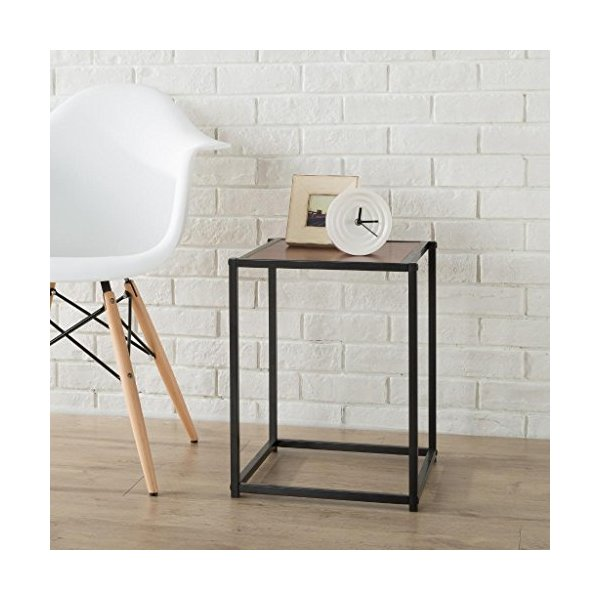 Zinus Modern Studio Collection Classic Cube Side Table/ End Table/ Night Stand/ Coffee Table