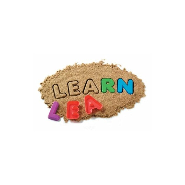 Learning Resources Uppercase Alphabet Sand Molds, Set Of 26