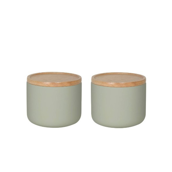 Now Designs Canister, Small, Agate Grey, Set of 2