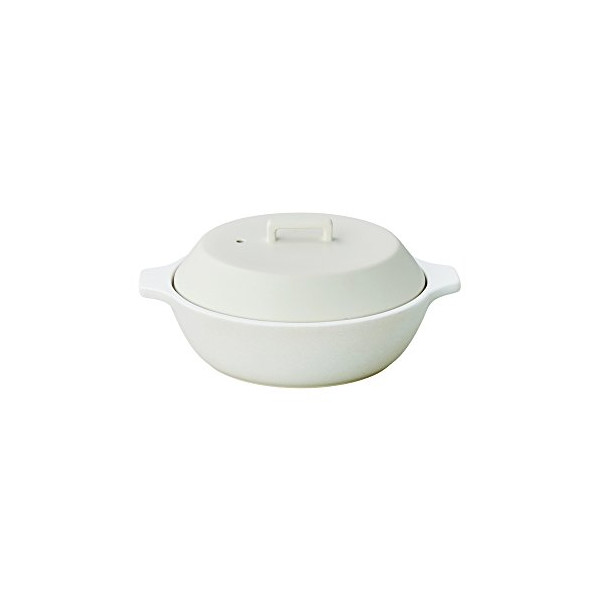 KAKOMI IH Donabe 1.2L Traditional Japanese Clay Pot - Steaming, Simmering, Stewing, Suitable for various cooking methods by Kinto