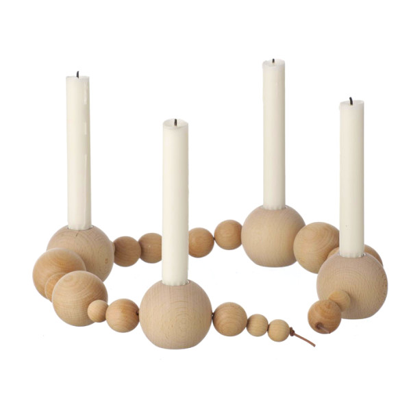 Ferm Living Candleholder String Nature