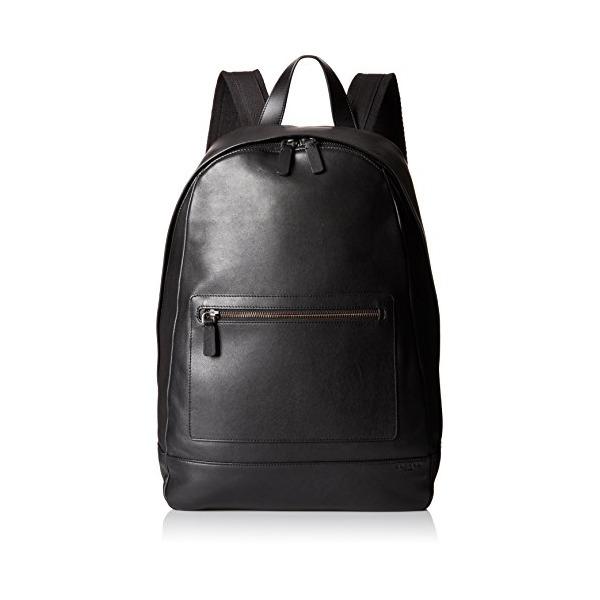 Skagen Men's Kroyer Leather Backpack, Black, One Size