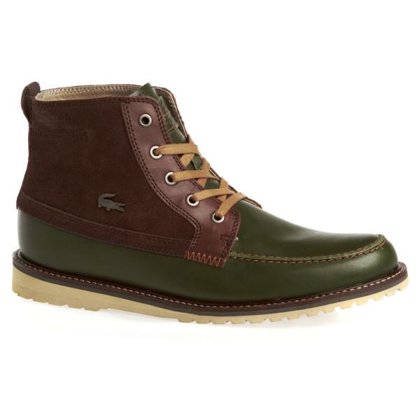 Lacoste Men's Marceau 4 SRM Leather/Suede Boots