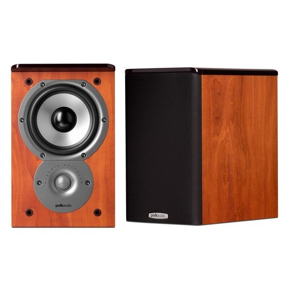 Polk Audio RTI A1 Bookshelf Speakers (Pair, Cherry)