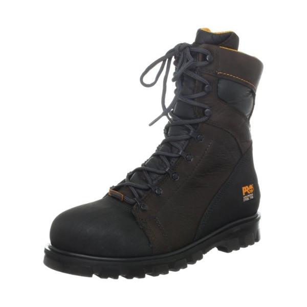 "Timberland PRO Men's Rigmaster Steel Toe 8"" WaterPROof Workboot,Brown,12 W"