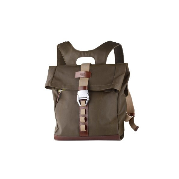 Brooks Saddles Islington Rucksack, Moss