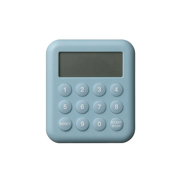 Plus Minus Zero 10 Key Digital Timer