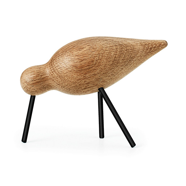 Normann Copenhagen Medium Oak Shorebird in Black