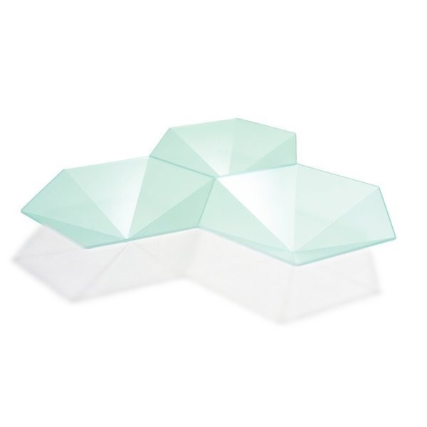 MollaSpace Hexagon Tray/Plate, Mint