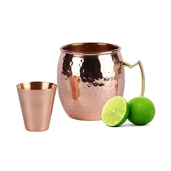 Premium Moscow Mule Copper, 100 % Pure Solid Copper