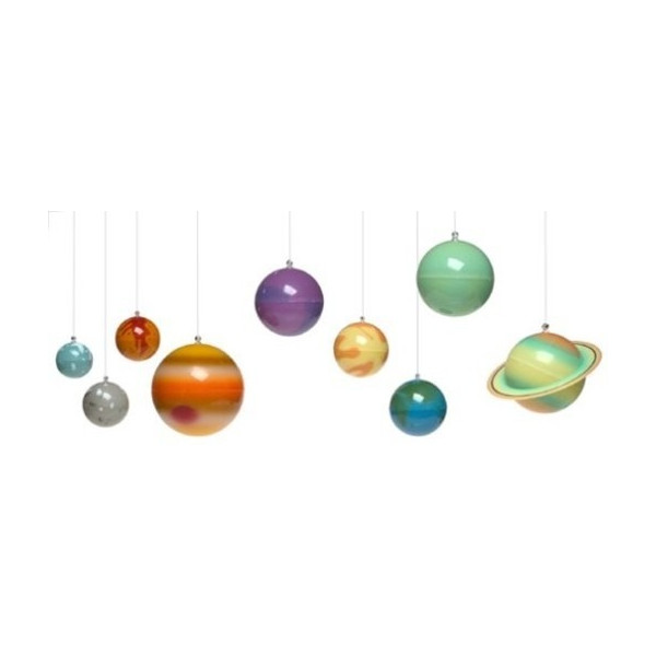 3D Solar System-Glow In The Dark Set